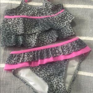 Girl's bikini bathing suit